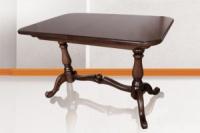 Стол деревянный раскладной Дуэт темный орех escape:'html'