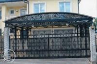 Кованные ворота escape:'html'