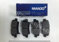 Колодка тормозная передняя Ланос, Сенс, Матиз 13 MANDO escape:'html'