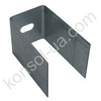 Фасадный кронштейн П-образный 80х50х80х1.5 мм escape:'html'