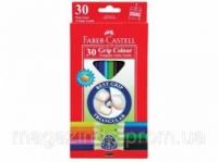 Карандаши цветные Faber_Castell 116530 30цветов треугольные+точилка Jumbo, картонная коробка с подвесом Код:401626023|escape:'html'