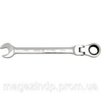 Ключ комбинированный с трещоткой и шарниром 17мм Yato YT-1683 Код:648653022|escape:'html'