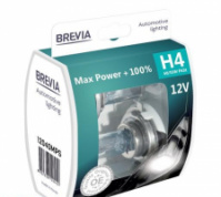 Галогеновые лампы H4 Brevia Max Power +100