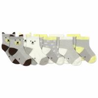 Детские антискользящие носки Bear (5 пар) Berni|escape:'html'