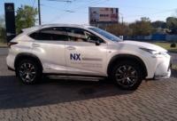Оклейка авто Lexus NX 300 в Днепропетровске escape:'html'