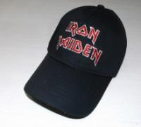 Бейсболка «Iron Maiden» черная с вышивкой.|escape:'html'