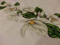 Вышиванка. Платье СЖг-025,в комплекте с чешским бисером