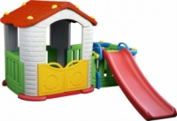 Игровой домик с горкой To Baby CDH-803