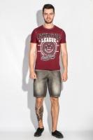 Шорты мужские джинс в стильных оттенках AG-0005980 Кофейно-бежевый escape:'html'