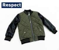 Куртка бомбер демисезонная стеганная детская и подростковая, бренд «Respect» (Англия)|escape:'html'