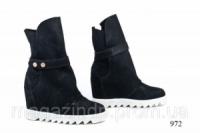 Женские ботинки замшевые 972 Код:591532620|escape:'html'