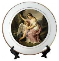 Тарелка керамическая gold, площадь запечатки d 110 мм размер тарелки d 200, PR750|escape:'html'