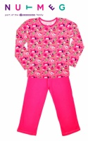 Пижамы для детей розовые «Собачка (Щенок)» хлопок, бренд «Morrisons Nutmeg» (Англия)