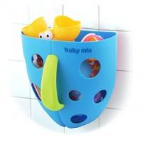 Корзина для игрушек Baby Mix YU-BH-708 синяя