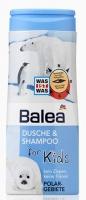 Balea 2 в 1 Детский гель для душа + шампунь «Пингвины» 300 мл.|escape:'html'