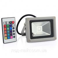 Прожектор светодиодный 10Вт RGB (гарантия: 1год)|escape:'html'