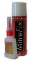 Цианоакрилатный двухкомпонентный клей с ускорителем MitreFix|escape:'html'