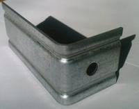 Кронштейн оцинкованный для вентилируемых фасадов L 65 мм толщ.1,5 мм
