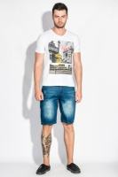 Шорты мужские джинс модные 102V005-4|escape:'html'