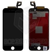 Дисплей iPhone 6S, черный, с сенсорным экраном, с рамкой, original (PRC)|escape:'html'