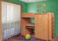 Детская двухярусная кровать Дуэт-1 ТМ Пехотин escape:'html'