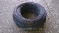 Проволока вязальная в бухтах черная, отожженная 1.2 мм