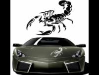 Наклейка для автомобиля 3D дизайнерская скорпион|escape:'html'