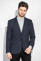 Пиджак мужской классический AG-0005710 Темно-синий|escape:'html'