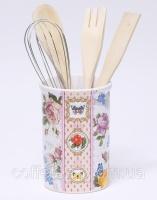 Подставка-стакан «Лето в Европе» для кухонных инструментов 5 предметов