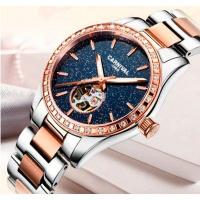 Женские часы с автоподзаводом класса Luxury Carnival Lady VIP Silver