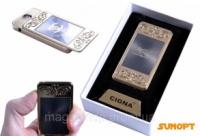 USB зажигалка с фонариком в подарочной упаковке «septwolves» (спираль накаливания) №4810-5 Код:627504455|escape:'html'