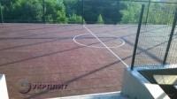 Резиновые спортивные покрытия для футбольного поля