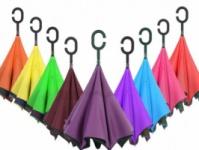 Обратный зонт UpBrella, однотонный|escape:'html'