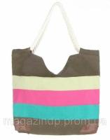Женская летняя сумка в полоску - 006.32 Код:9390|escape:'html'