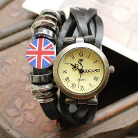 Новая Мода 2014 , Наручные Часы класса Люкс « QUARTZ » escape:'html'