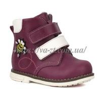 Ботинки для девочки из натуральной кожи escape:'html'
