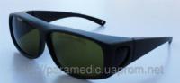 Очки защитные 190-470 и 800-1700 nm. O.D.+5 для лазера диодного,неодимового, Корея|escape:'html'