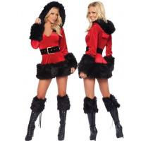 Бархатный костюм рождественской тематики escape:'html'