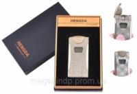 USB зажигалка в подарочной упаковке HENGDA (Спираль накаливания, Счетчик поджигов) №XT-4873-1 Код:627504450|escape:'html'