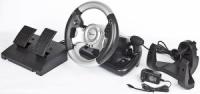 Wheel Gembird STR-FFB3 з педалями, з механізмом зворотнього звязку - вібрація, USB інтерфейс, кріплення до столу escape:'html'