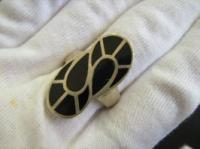 Серебряное кольцо 925 эмаль размер 18,5|escape:'html'