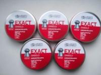 EXACT .177, 0.547гр., подкалибр 4.52, штамп 0, 500 штук в банке. escape:'html'