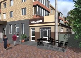 Реконструкція житлових приміщень під офіс-магазин, перукарню, кафе