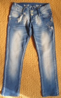 Класные джинсы на рост 145-149 см. (смотрите замеры).