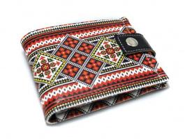 Патриотичный кошелек «Вышивка»