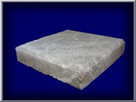Плитка из соли Высота/ширина -170х170мм. Толщина плитки - 35 мм. Вес - 2,4 кг. В 1 м.кв. - 34 шт.