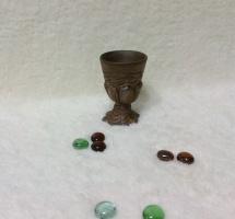 Керамический бокал Цветочный