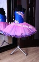 Прокатное нарядное детское платье П092