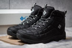 Зимние ботинки на меху Columbia Omni-Grip, черные (30421),  [  42 43 44 45  ]