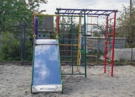 Комплекс «Веселка-М», спортивно-игровой для малышей.